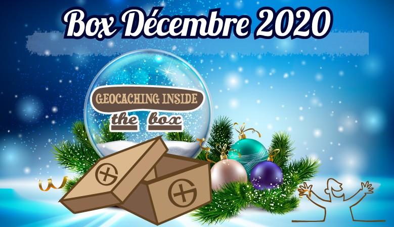 Offrez-vous une Box surprise 100% Geocaching pour Noël !