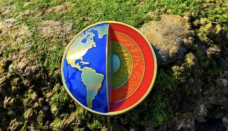 Les 4 éléments : un sublime géocoin en 3D pour célébrer la planète
