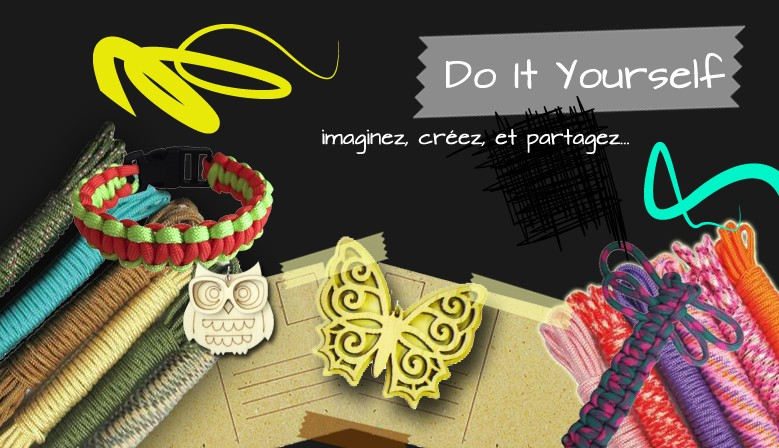 Du nouveau au rayon Do It Yourself !