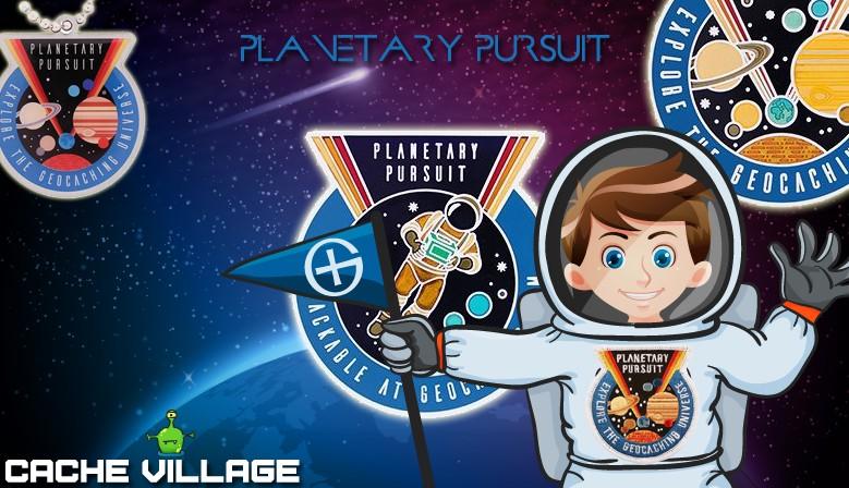 Les produits officiels de l'animation Planetary Pursuit