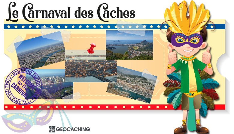 Le Carnaval des Caches : l'animation Geocaching du printemps 2019