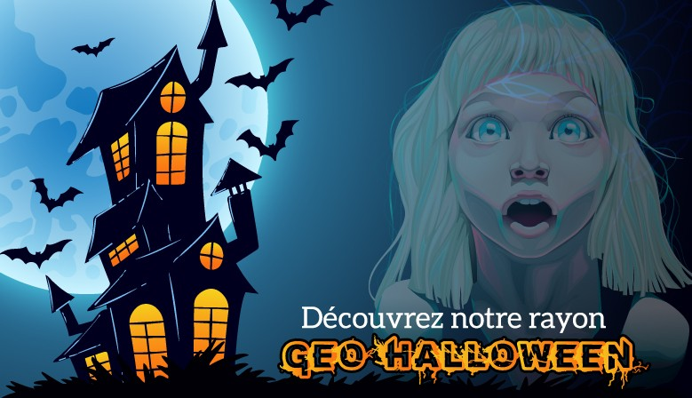 Fêtez Halloween avec notre rayon dédié