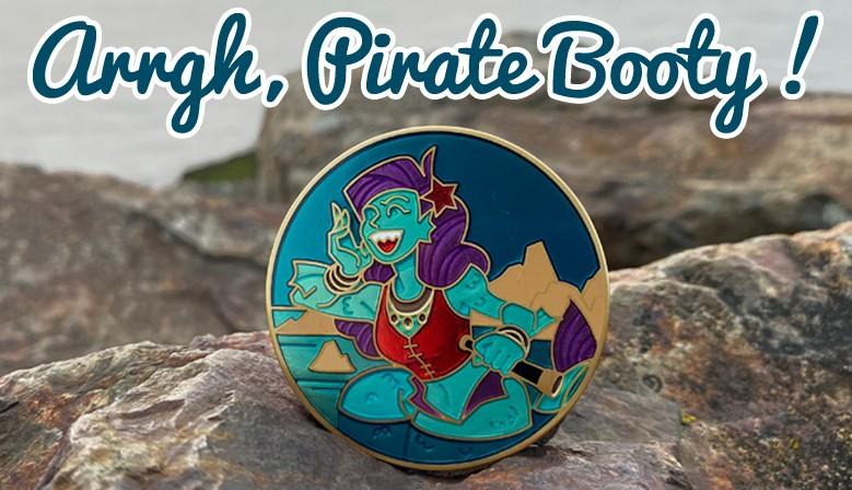 Pirate Booty : le rayon des géo-pirates !