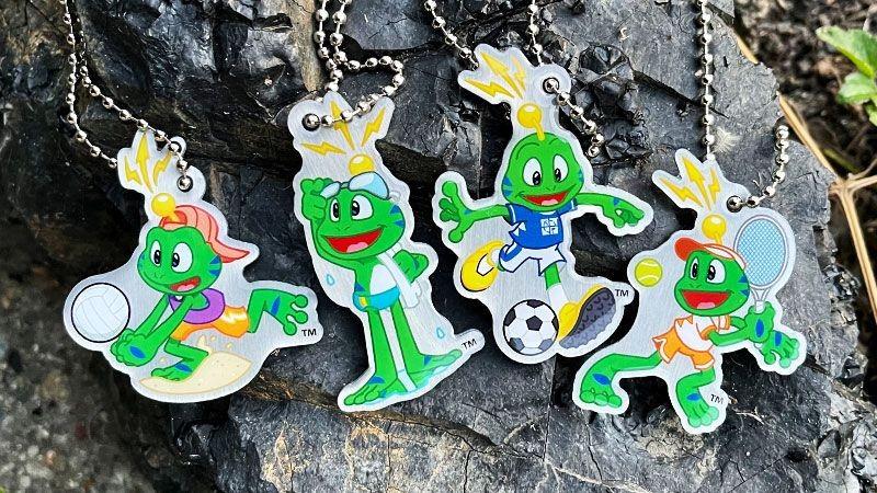 Une nouvelle collection de traçables sportifs à l'image de Signal the Frog