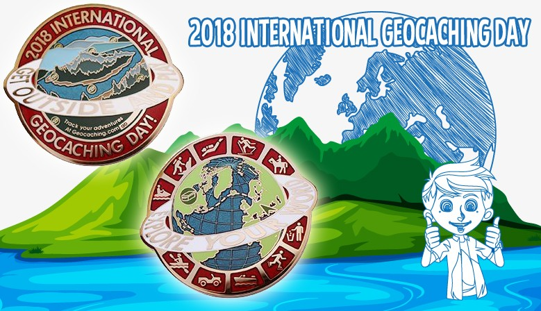 18 août 2018 : on fête la journée internationale du Géocaching !