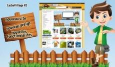 Lancement Cache Village V2 : nouveau design, nouvelles fonctionnalités
