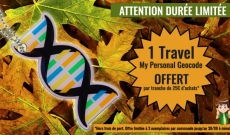 Durée limitée : un Travel Tag offert par tranche de 25€ d'achats !