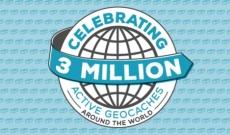 Une infographie Géocaching pour marquer le jalon des 3 millions