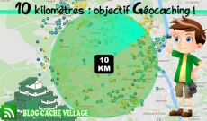 10 kilomètres : objectif Géocaching !